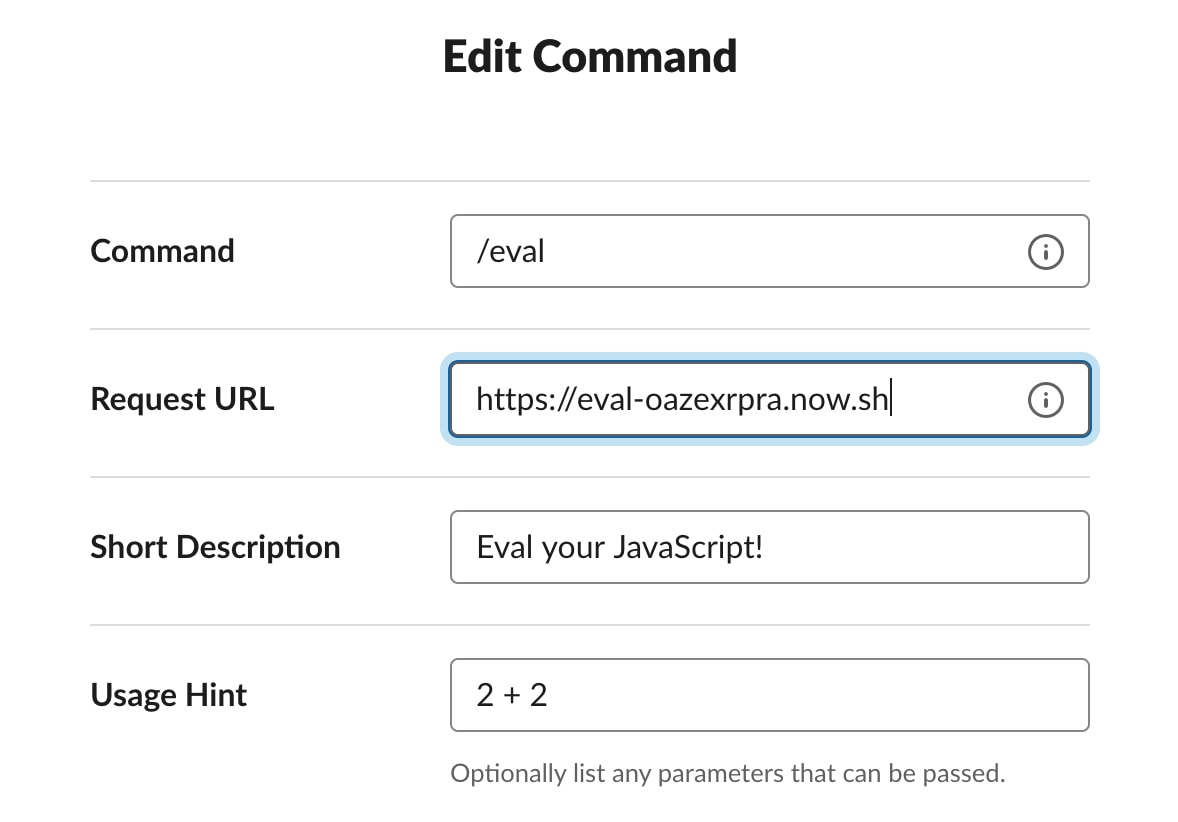 Serverless Slack Apps with Now - ZEIT